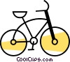 Bicycles Vector Clipart image