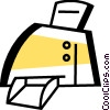 Vector Clip Art picture  of a Printers