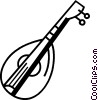 Vector Clip Art picture  of a Oud