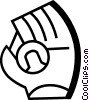 Gloves Vector Clip Art picture