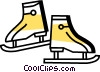 Skating Vector Clipart illustration