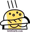 Hamburgers Vector Clipart image