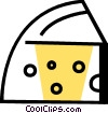Vector Clipart picture  of a Cheeses