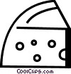 Vector Clipart graphic  of a Cheeses