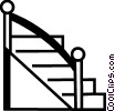 Stairs Vector Clip Art graphic