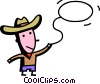 Cowboys Vector Clipart illustration