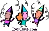 party celebrants Vector Clipart illustration
