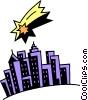 Cityscapes Vector Clip Art graphic