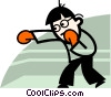 Vector Clipart illustration  of a Boxers and Fighters