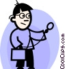 Vector Clip Art image  of a Doctors
