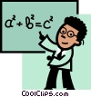 Teachers Vector Clipart illustration