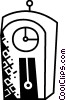 Grandfather Clocks Vector Clip Art graphic