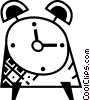 Vector Clipart illustration  of an Alarm Clocks