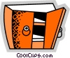 Drawers and Cabinets Vector Clip Art graphic