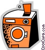 Dishwashers Vector Clip Art graphic