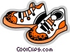 Running Shoes Vector Clipart graphic