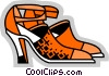 Dress Shoes Vector Clip Art image
