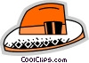 Vector Clipart picture  of a Hats
