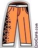 Vector Clipart image  of a Pants
