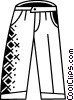 Pants Vector Clipart picture