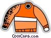Vector Clipart graphic  of a Sweaters