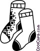 Socks Vector Clipart illustration