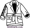 Coats and Jackets Vector Clip Art graphic