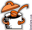Pots and Pans Vector Clipart graphic