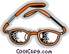 Glasses and Eyeglasses Vector Clipart picture