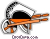 Wheelbarrows Vector Clipart image