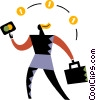 Financial Concepts Vector Clip Art picture