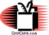 Vector Clip Art graphic  of a Grocery Store Items