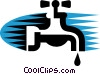 Faucets Vector Clipart picture