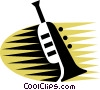 Vector Clip Art picture  of a Trumpets