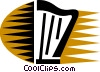 Harps Vector Clip Art graphic