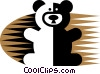 Vector Clipart picture  of a Teddy Bears