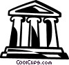 bank Vector Clipart illustration