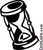Vector Clipart graphic  of a hourglass