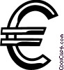 currency symbol Vector Clipart picture