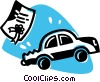 car insurance Vector Clipart image