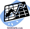 Vector Clip Art graphic  of a chart