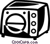 Vector Clipart image  of a Grills and Cook Ovens