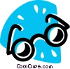 Glasses and Eyeglasses Vector Clipart illustration