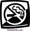 Vector Clipart graphic  of a Cigarettes