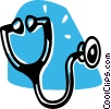 Stethoscopes Vector Clipart illustration