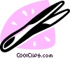 Tweezers Vector Clipart graphic