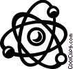 Atoms Vector Clip Art graphic