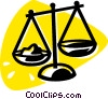 Vector Clipart graphic  of a Scales