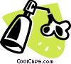 Vector Clip Art image  of a Hand Soap