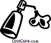 Vector Clip Art graphic  of a Hand Soap
